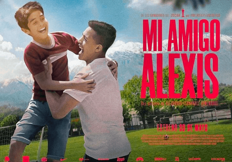 "Movie poster for the Netflix movie, ""Mi Amigo Alexis."""