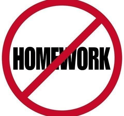 Reevaluate No Homework Days