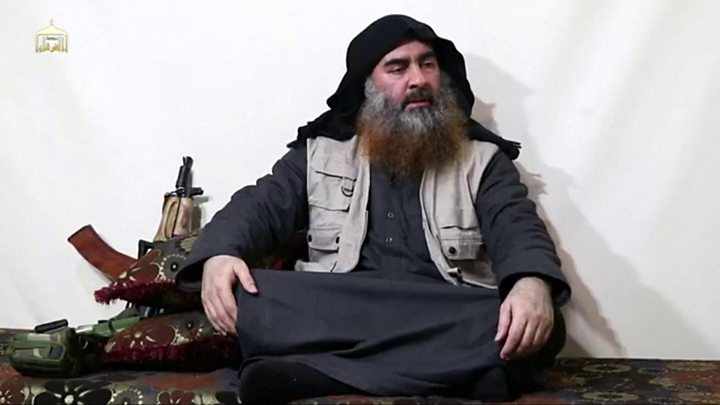 ISIS+Leader+Abur+Bakr+al-Baghdadi+Killed+in+U.S.+Raid