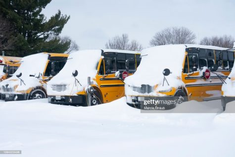 Are snow days a things of the past?  Credit: Marcia Straub, Getty Images