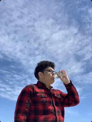 Huntington senior Jeffrey Ochoa Alvarez is an up and coming young rapper. Credit: Jeffrey Ochoa Alvarez